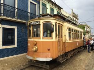 Vēsturiskais koka tramvajs