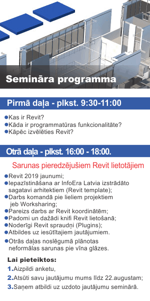 InfoEra Latvia Revit user day